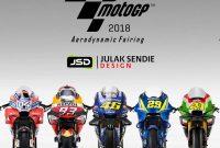 Foto Motor MotoGP Tebaru untuk Musim 2018