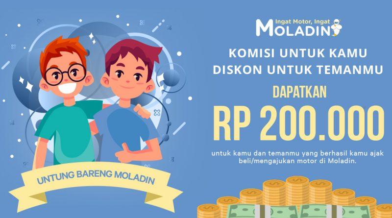 Program UntungBareng Moladin
