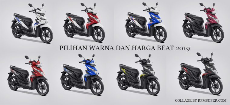Warna Honda Beat 2019